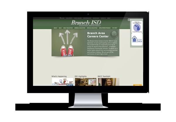 BACC Screen -Imagination FX | Web design & Internet Marketing