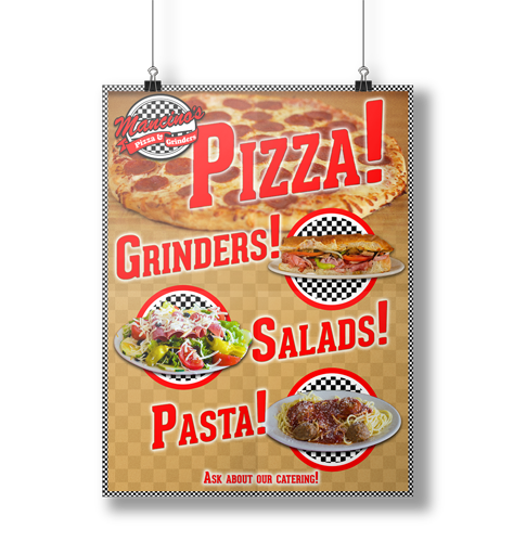 Pizza Poster -Imagination FX | Web design & Internet Marketing