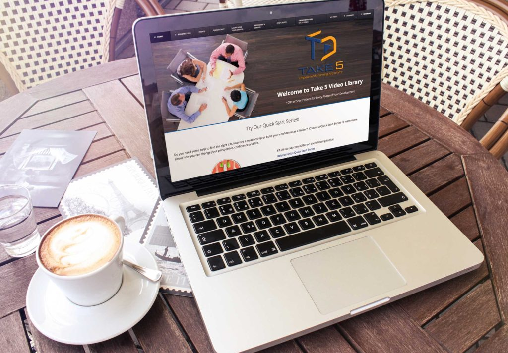 Take 5 Mockup -Imagination FX   Web design & Internet Marketing