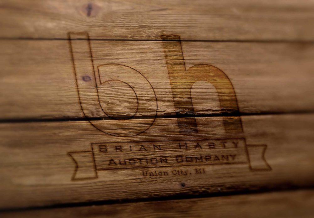 Hasty Auction Logo -Imagination FX   Web design & Internet Marketing